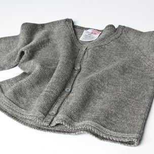 Kids Cardi - Knitted in Extrafine Merino Wool