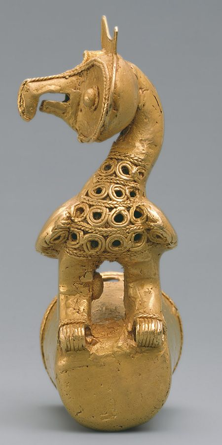 Staff Head with Owl, 5th–10th century Colombia; Sinú Cast gold. We all living beings are made of the same energy and substance either mater or antimatter, therefore we have to respect life in all its disguises, don't support animal killing for meat and pollution, go vegan and green for is a most, http://dammebleustartgate2freedom.blogspot.com