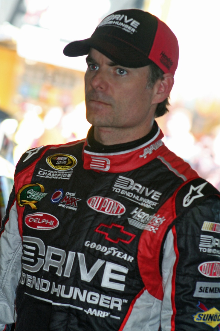 Jeff Gordon....Great cause...End hunger  Yes please