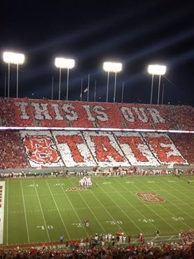 NC State Football #NCState #Wolfpack #Football
