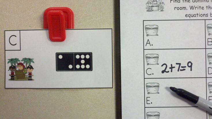 FREEBIE!!!  Pirate Kids Domino Add the Room (Sums of 6 to 10)  http://www.teacherspayteachers.com/Product/Pirate-Kids-Domino-Add-the-Room-Sums-of-6-10-1196581