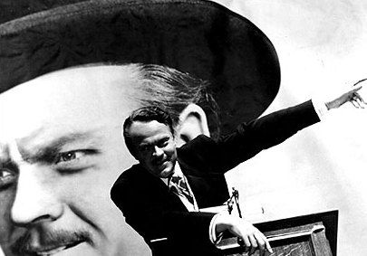 Citizen Kane, directed by and starring Orson Welles