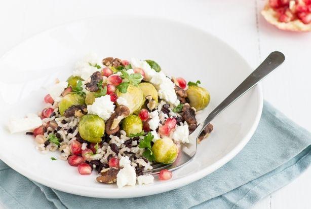 Fresh & Easy: Wilde rijstsalade met spruitjes