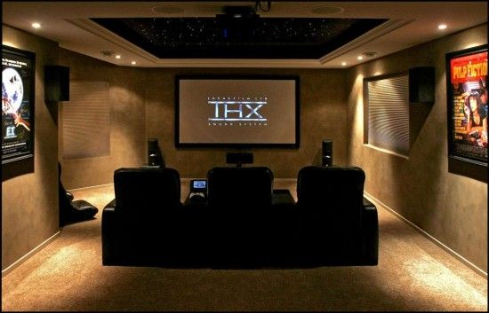 Home theatre!  I want one of these in my house!!!