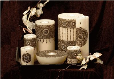 25 Best Ideas About Henna Candles On Pinterest  Decorated Candles Henna Pa