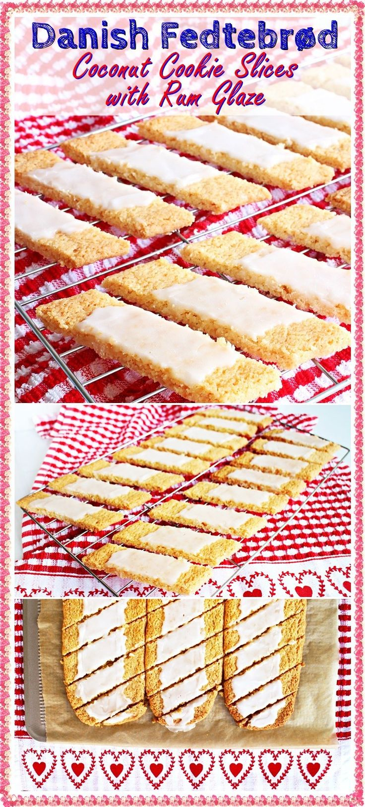 616 best danish food images on pinterest danish pastries danish danish fedtebrd coconut cookie slices with rum glaze a recipe from my mums childhood forumfinder Images