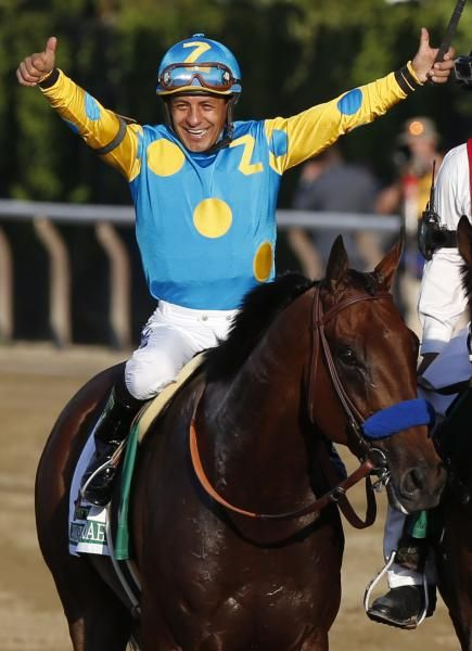American Pharoah is the first horse to win the Triple Crown since 1978 by winning the 147th Belmont Park, Saturday, June 6, 2015, in Elmont, N.Y.