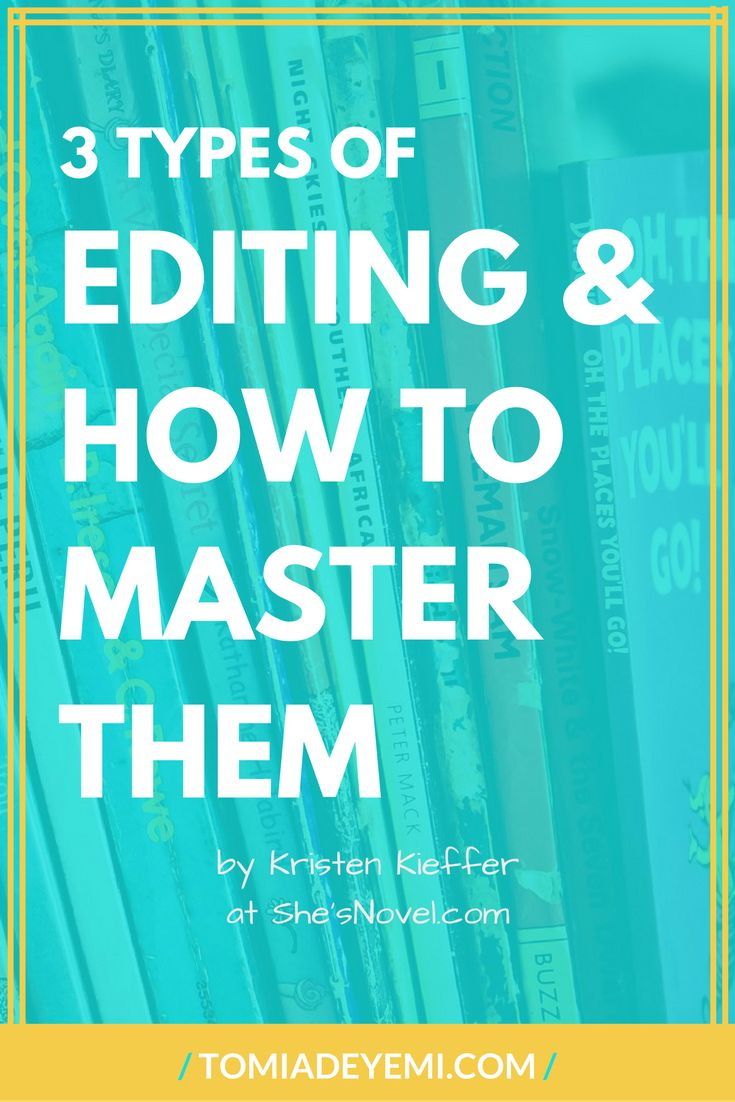 How to edit an essay kind