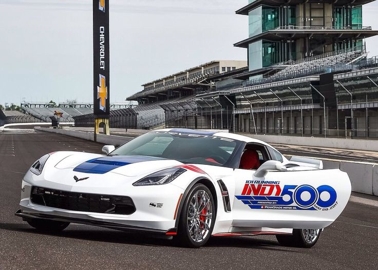Ultra Corvette!! The Chevrolet Corvette Grand Sport is the official pace car for the 2017 Indianapolis 500 and will lead drivers to the green flag on May 28,2017 for the 101st running of the legendary race.It marks the 14th time a Corvette has served as the official pace car,starting in 1978,and the 28th time a Chevrolet has led the field,dating back to 1948.The ZO1 package can accelerate from 0-60 mph in 3.6 seconds, cover the quarter mile in 11.8 seconds and achieve 1.2 g cornering…