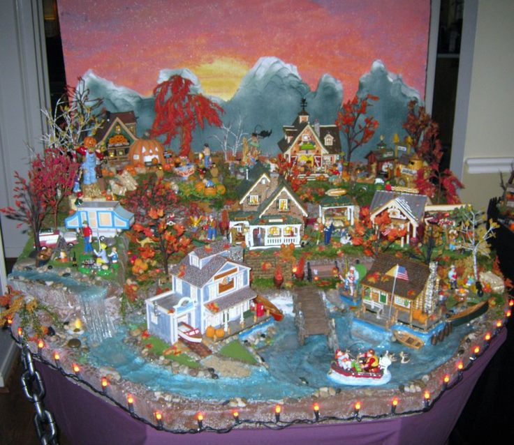 56 halloween village display dept 56