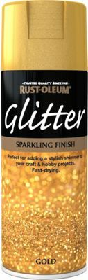 Rust Oleum Gold Glitter Spray Paint 400ml