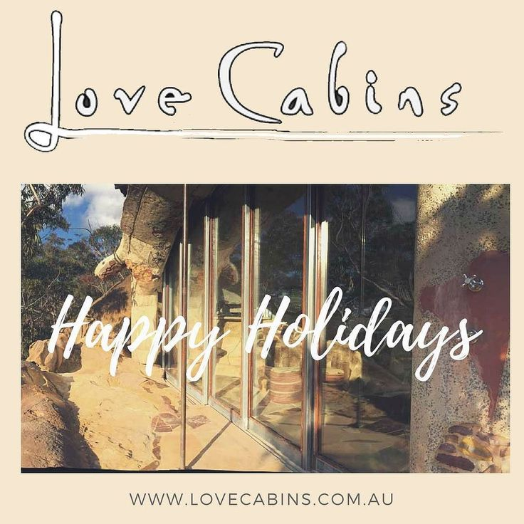 Happy Holidays from everyone at Wollemi Love Cabins [http://ift.tt/2ioooc8]
