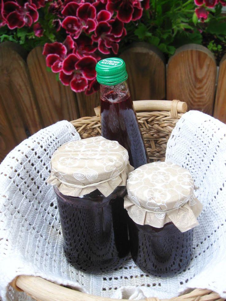 Zdjęcie: Zdrowy sok z leśnych jeżyn