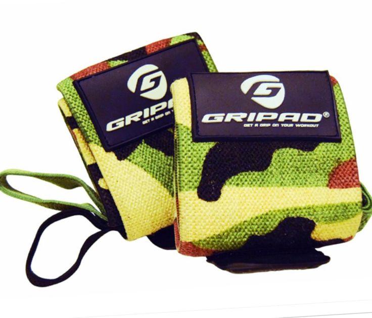 Gripad Weight Lifting Wrist Wrap - Camouflage