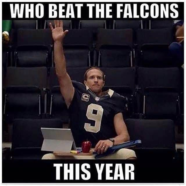 Funniest New Orleans Saints memes after being Atlanta Falcons
