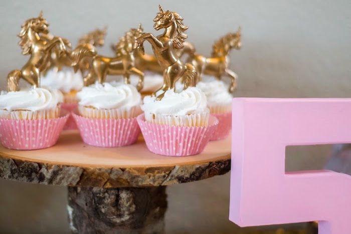 Cupcakes from a Rainbows & Unicorns Birthday Party via Kara's Party Ideas KarasPartyIdeas.com (18)