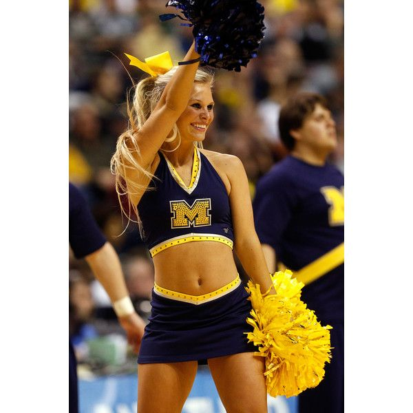 Photos Cheerleaders at March Madness ❤ liked on Polyvore