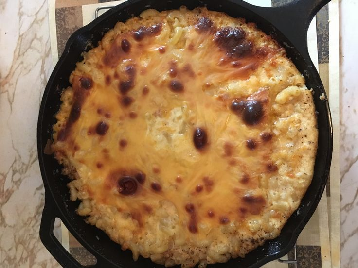 Baked Mac & Cheese with Smoke Turkey
