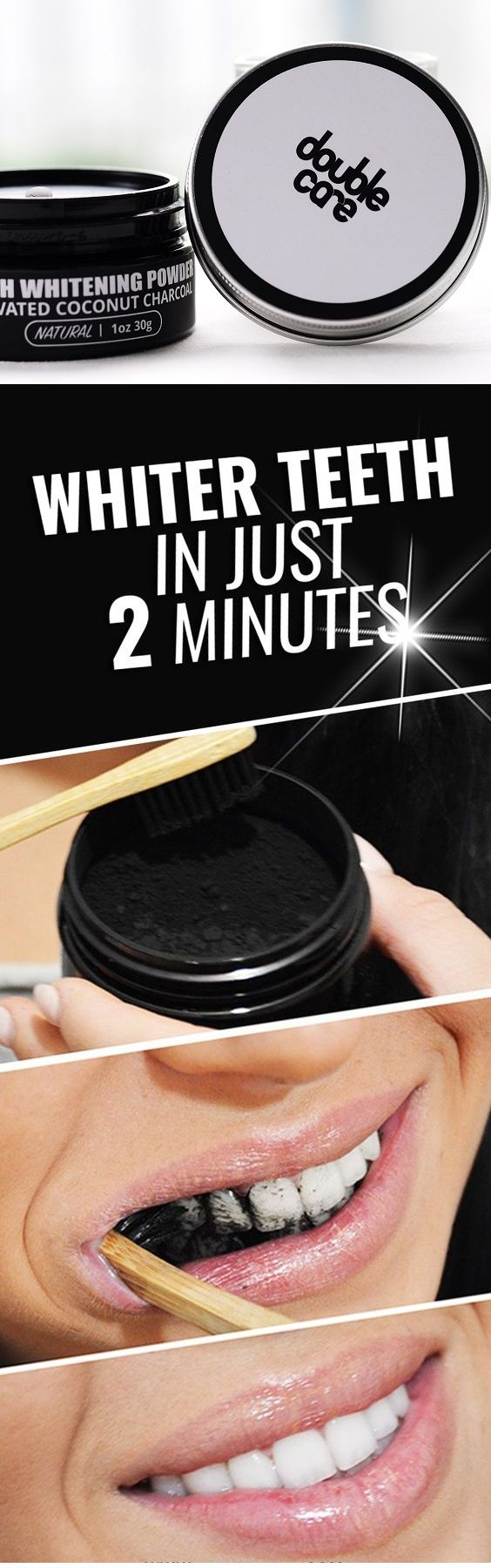 Whiten Your Teeth with Natural Charcoal Powder