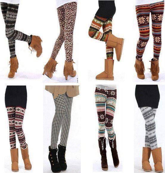 #leggings in the #winter season