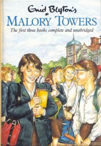 Malory Towers Series by Enid Blyton - first three books.