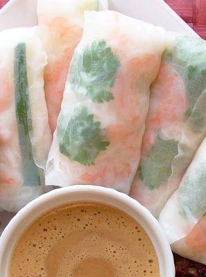 Vietnamese Rice Paper Rolls Recipe (Dinner with Julie)