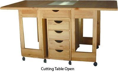 38 Awesome folding sewing cutting table images                                                                                                                                                                                 More