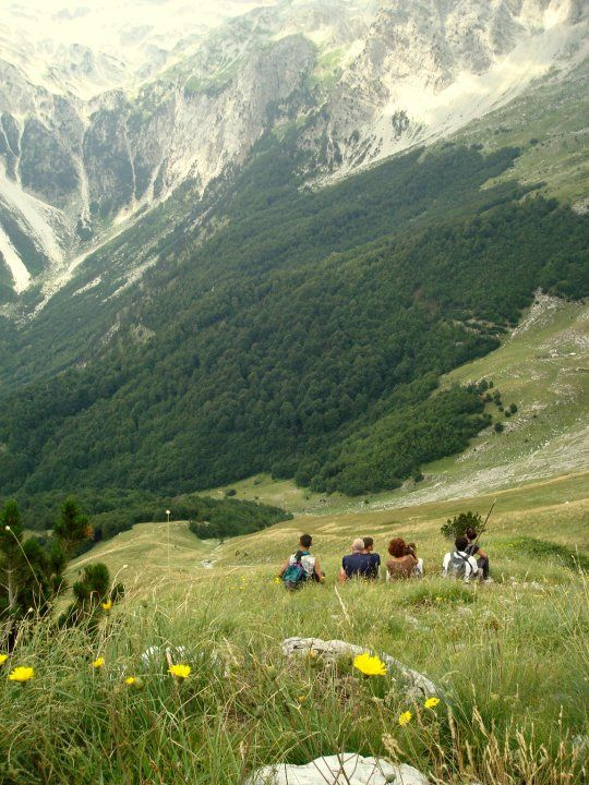 The Albanian Alps give you some of the most stunning panoramic views in Europe, and is the ultimate region to explore for reasonably fit and adventurous people, who love trekking and are used to long walks. #AlbanianAlps