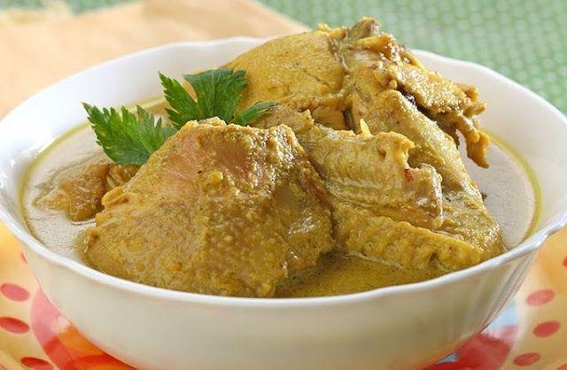 Resep Cara Membuat Opor Ayam Bumbu Kuning Resep Masakan Resep Ayam Resep