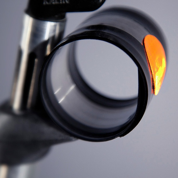 Keep your bike's profile (and your back) clean with this sleek recoiling fender