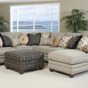 Cream Sectional Sofa With Chaise