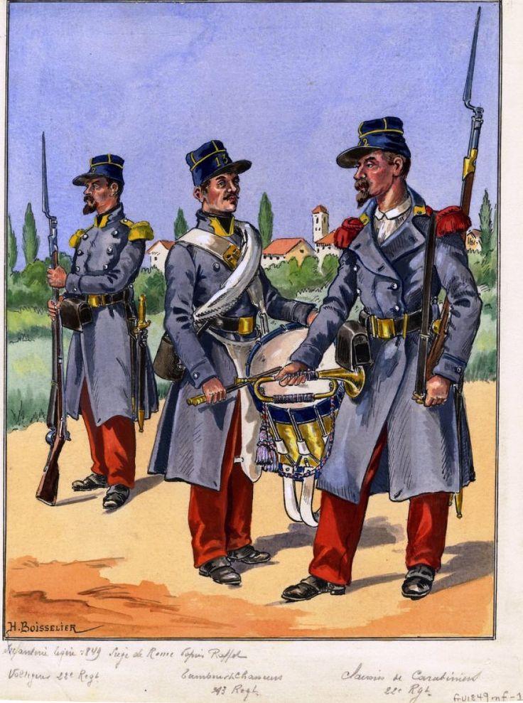 Открытки французская армия