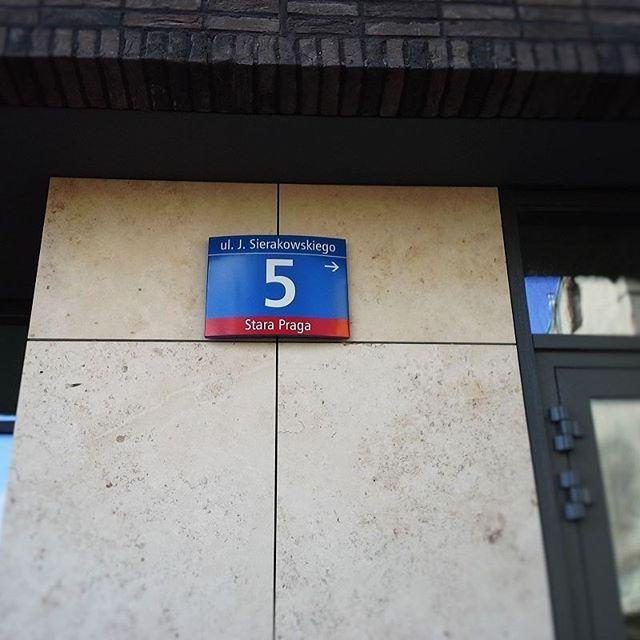 #sierakowskiego #sierakowskiego5 #portpraski #warszawa #cegła #kamienica #tradycja #nowoczesnosc  #adres