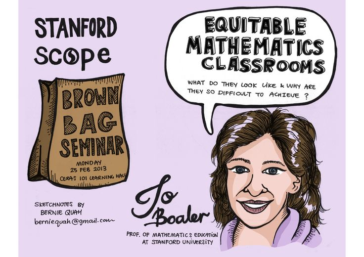 Stanford Center for Opportunity Policy in Education (SCOPE) presents Jo Boaler sharing her thoughts on Equitable Mathematics Classrooms.  Download & keep a copy http://db.tt/GujKnG2Z