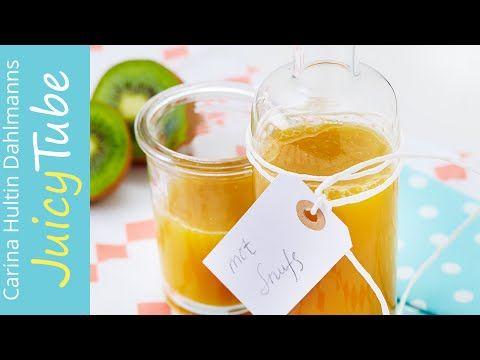 """Frisk med Juice! """"Snufsen"""" kiwi og paprika/Healthy with Juice- Cold and Flu Juice - YouTube"""