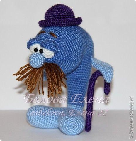 Игрушка Вязание крючком Дядюшка Кит Пряжа фото 1
