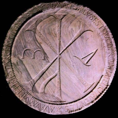 LES BERGERS D´ARKHO ou les Monogrammes: le Chrisme avant Jésus- Christ