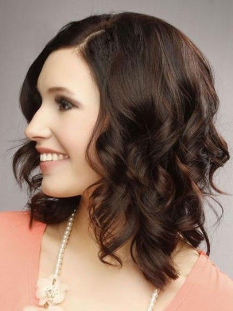medium haircuts for faces 94 best images about curly hairstyles on 34 9590