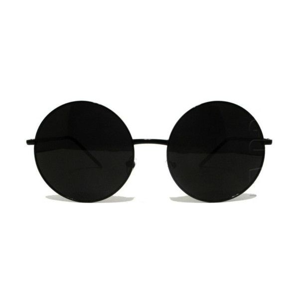 circular sunglasses | Tumblr ❤ liked on Polyvore featuring glasses, sunglasses, accessories, eyewear, fillers, circle, circular and round