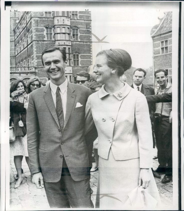 1966 French Count Henri de Laborde de Monpazet Princess Margrethe