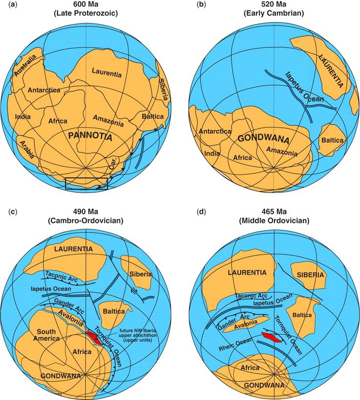 how to remember the position continents