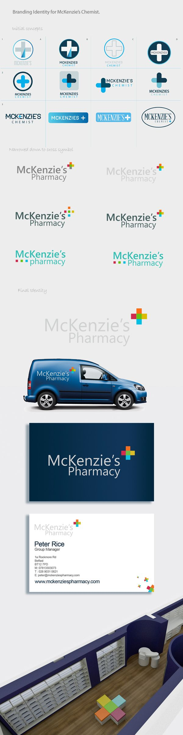 McKenzie's Chemist Branding on Behance