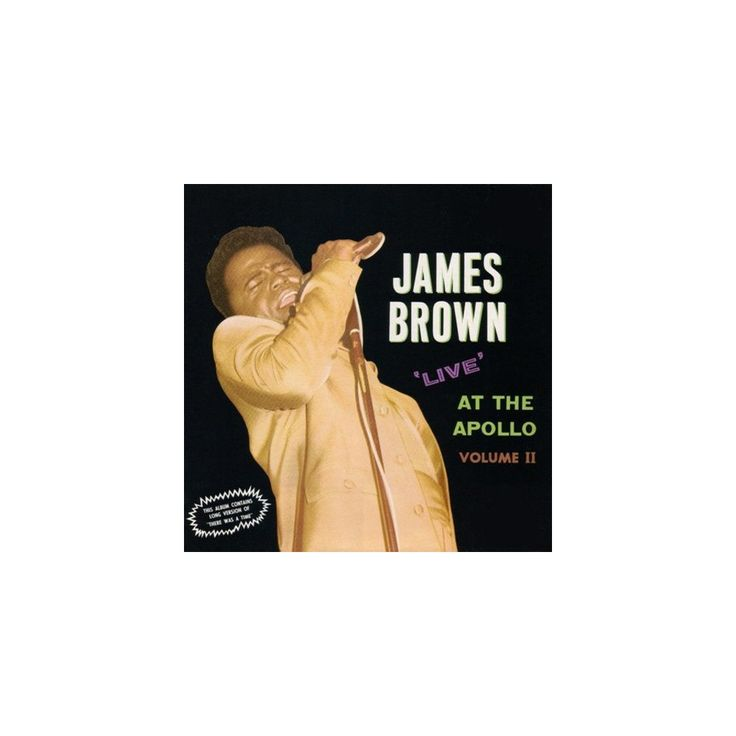 James Brown - Live at the Apollo Vol II: Deluxe Edition (Vinyl)