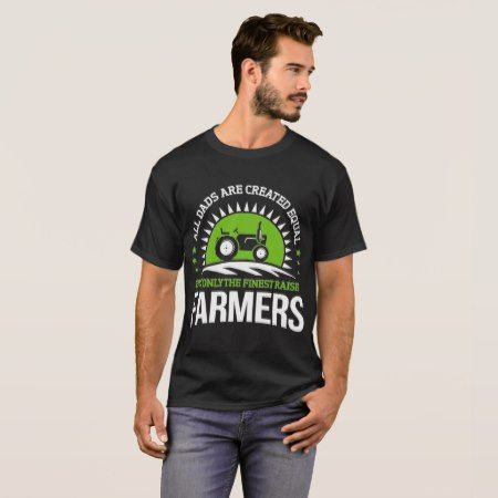 Farmer Dad T-Shirt - click/tap to personalize and buy
