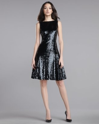 St. John - sequined dress...it cost the same as my old mini van but I still think it's gorgeous