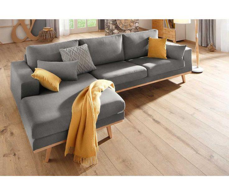 die besten 25 ecksofa ideen auf pinterest graues. Black Bedroom Furniture Sets. Home Design Ideas