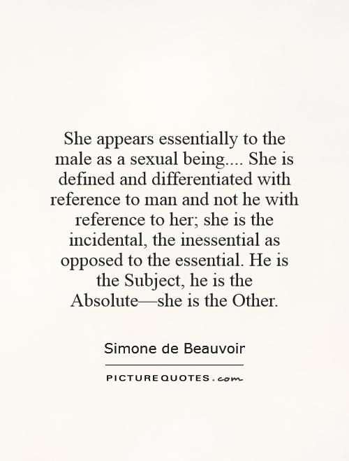 Simone de Beauvoir (1908 – 1986) was a French writer, intellectual, existentialist philosopher, political activist, feminist and social theorist. I'm reading one of her books right now  #feminism