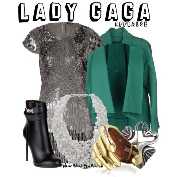 Lady gaga applause video outfits