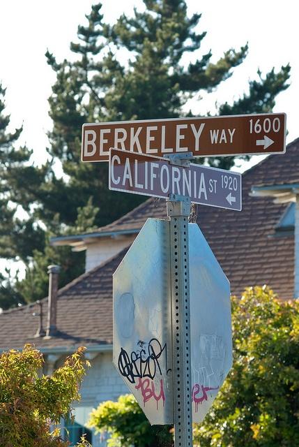 Berkeley, California by Keoki Seu, via Flickr
