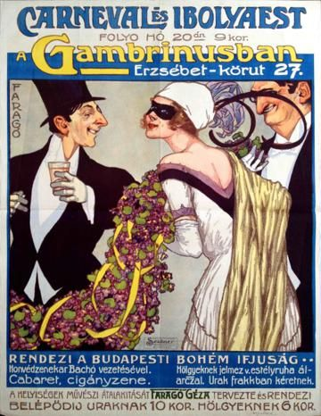Carnival and Violet Ball at the Gambrinus (1926)